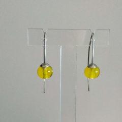 Boucles d'oreilles nuances de jaune