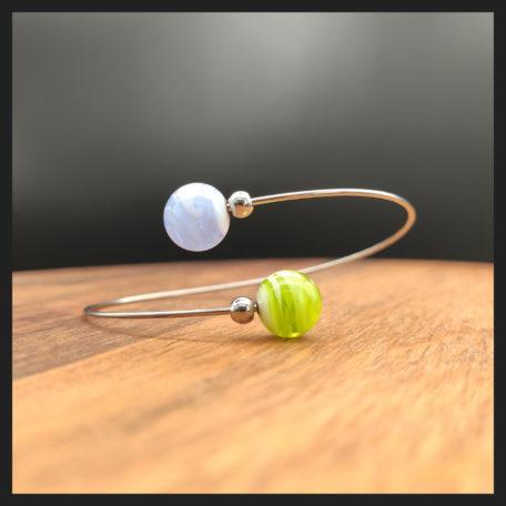 """Bracelet """" Kiléyo, les interchangeables invisibles """""""